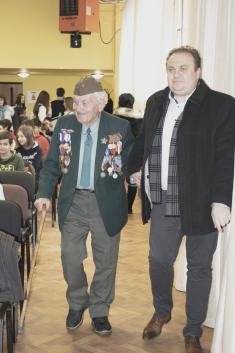 Beseda s pánom Vladimírom Strmeňom - priamym účastníkom SNP